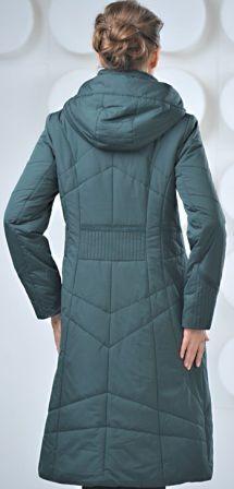 Фото 7 - пальто на синтепоне женское большие размеры