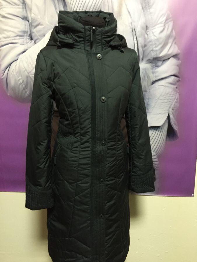 Фото 3 - пальто на синтепоне женское большие размеры