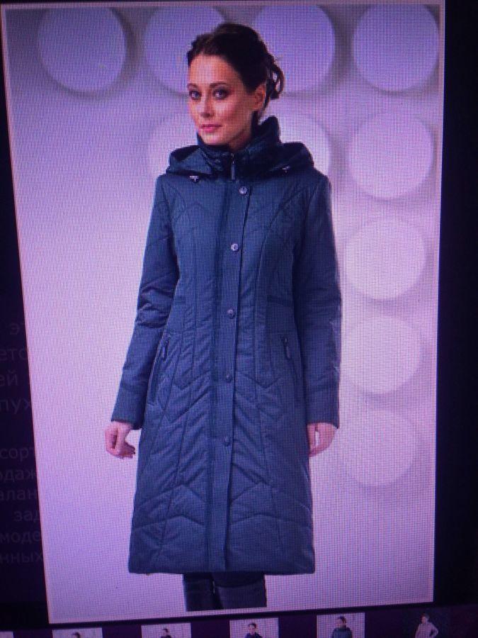 Фото 5 - пальто на синтепоне женское большие размеры