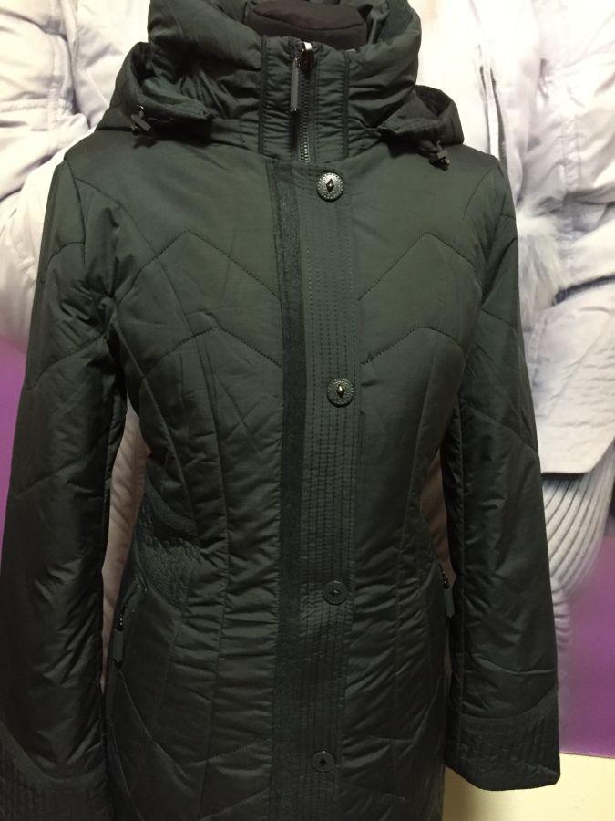 Фото 2 - пальто на синтепоне женское большие размеры