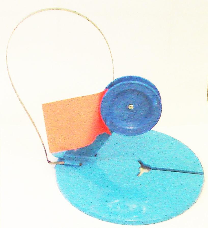 Жерлица зимняя пластмассовая