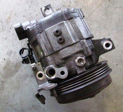 компрессор кондиционера на Subaru Forester S11 форестер  б/у оригинал