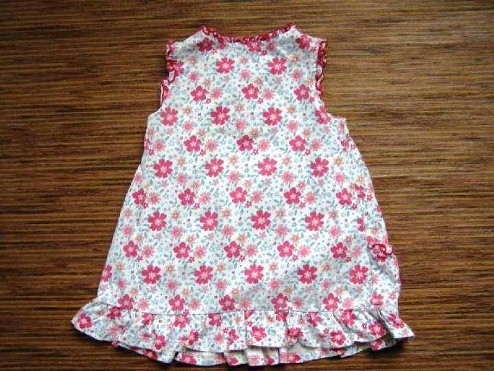 Фото 2 - трикотажное платье с оборками на 9-12 мес