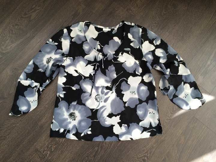 Фото - шифоновая свободная блуза GNW р.XL