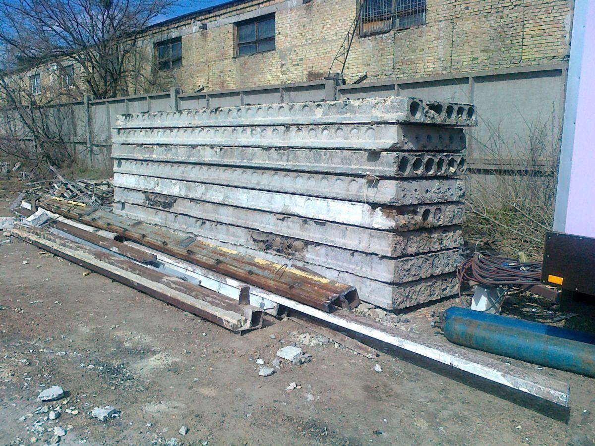 Фото - Плиты перекрытий б/у купим Киев дорого.