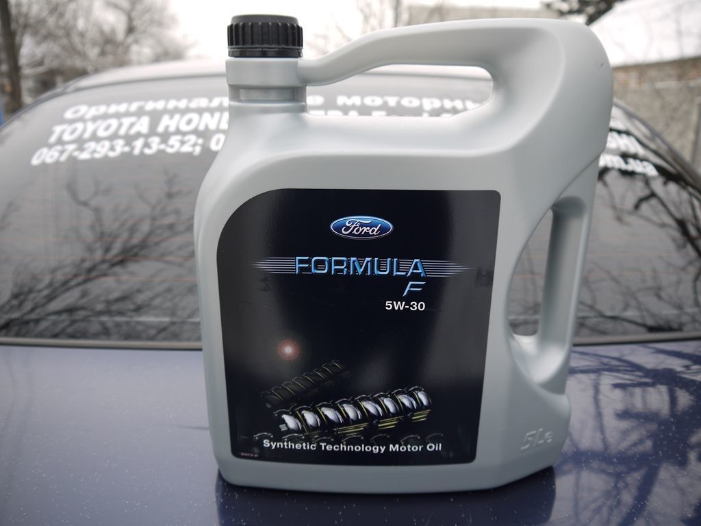 155D3A Оригинальное моторное масло FORD Formula F SAE 5w-30 5л (EU)