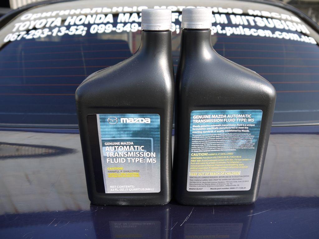 0000-77-112E-01 Оригинальное трансмиссионное масло MAZDA ATF M5 946мл.