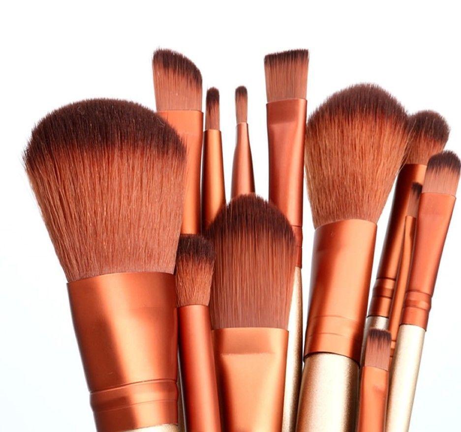 Набор кистей для макияжа (12 шт)