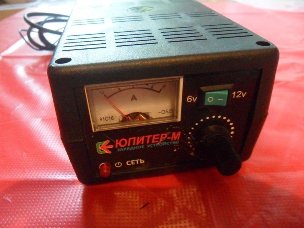 Автомобильное Зарядное устройство Юпитер-М 6-12V/6A