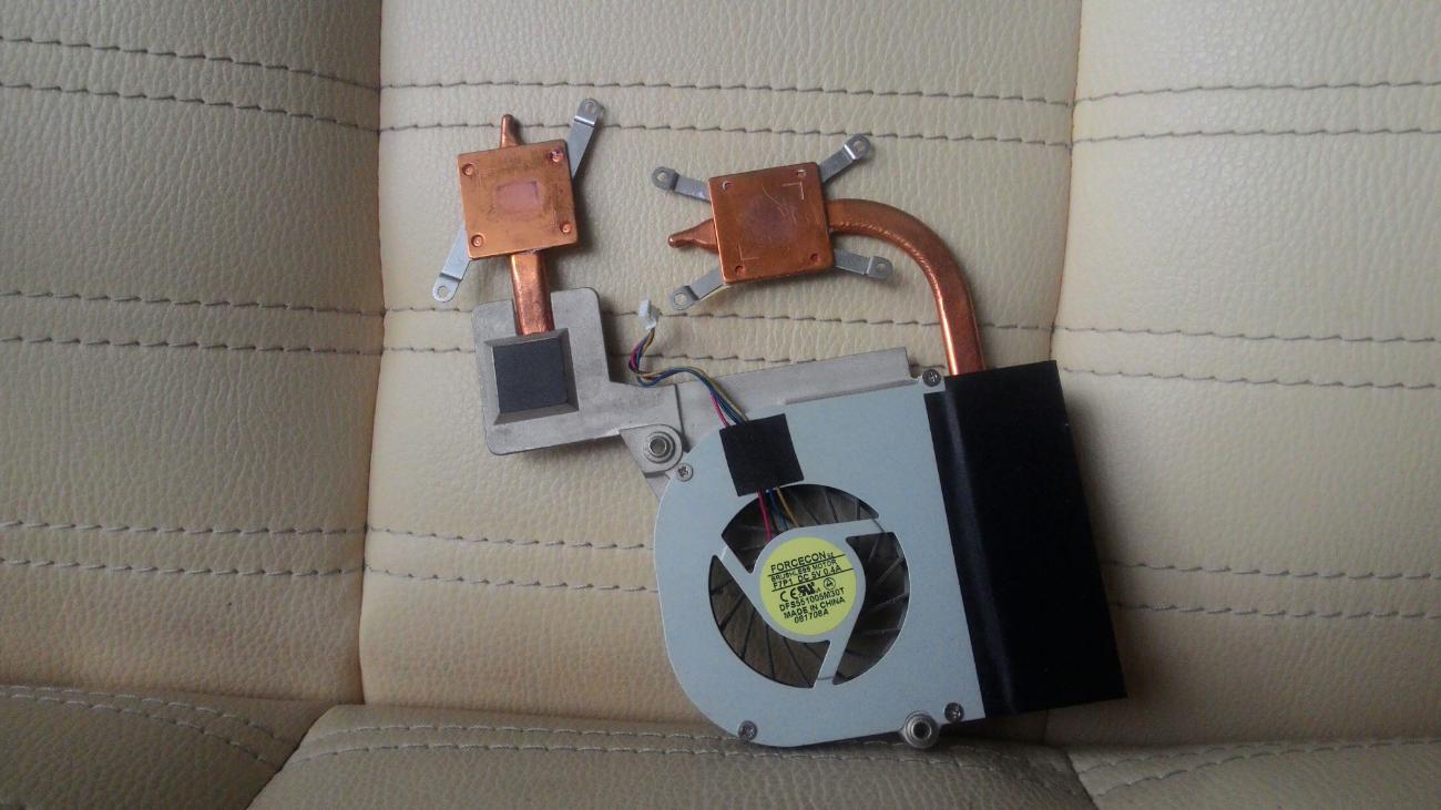 Фото - Система охлаждения Asus F80C