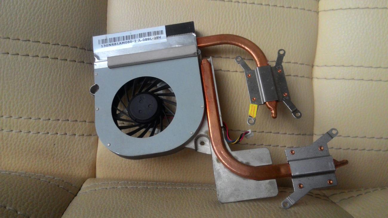Фото 2 - Система охлаждения Asus F80C