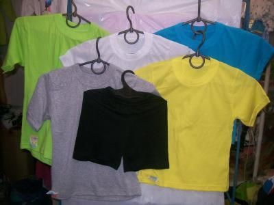 футболки однотонные, шорты, хлопок цвета разные,размеры любые