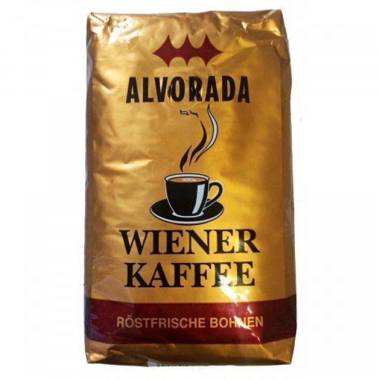 Фото - Кофе в зернах, 1000 г. Alvorada Wiener Kaffee