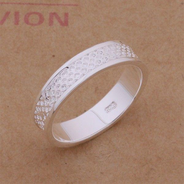 Фото - Кольцо сеточка покрытие 925 серебро проба