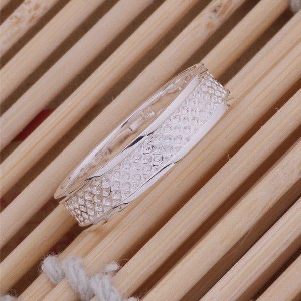 Фото 4 - Кольцо сеточка покрытие 925 серебро проба