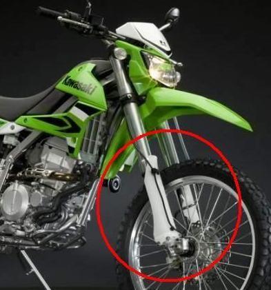 Защита вилки мотоцикла