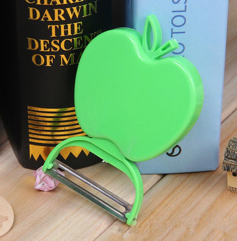 Фото 2 - Овощечистка складная - яблоко