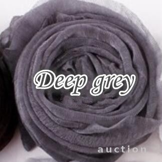 Фото - Легенький весенний шарфик серый