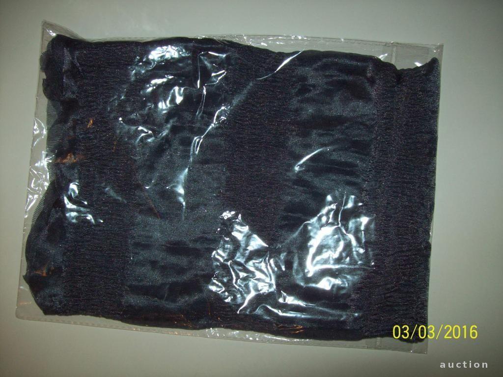 Фото 2 - Легенький весенний шарфик серый