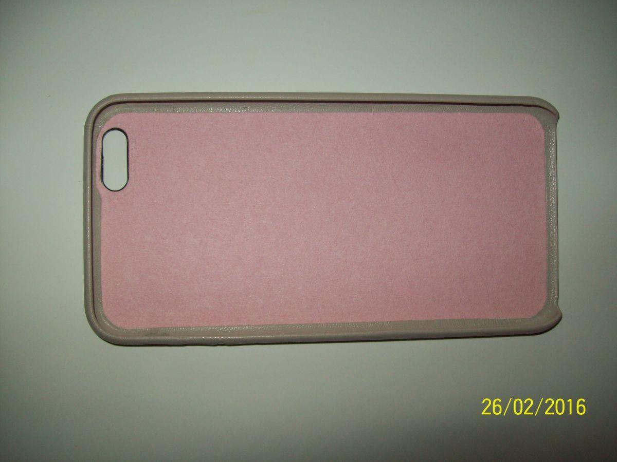 Фото 4 - Премиум чехол бампер нат.кожа IPhone 6+