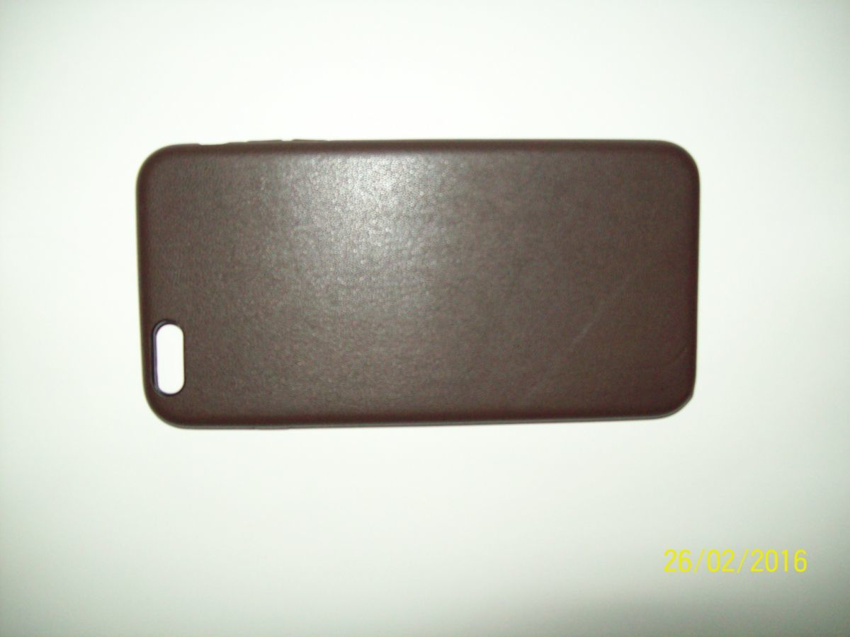 Фото 7 - Премиум чехол бампер нат.кожа IPhone 6+