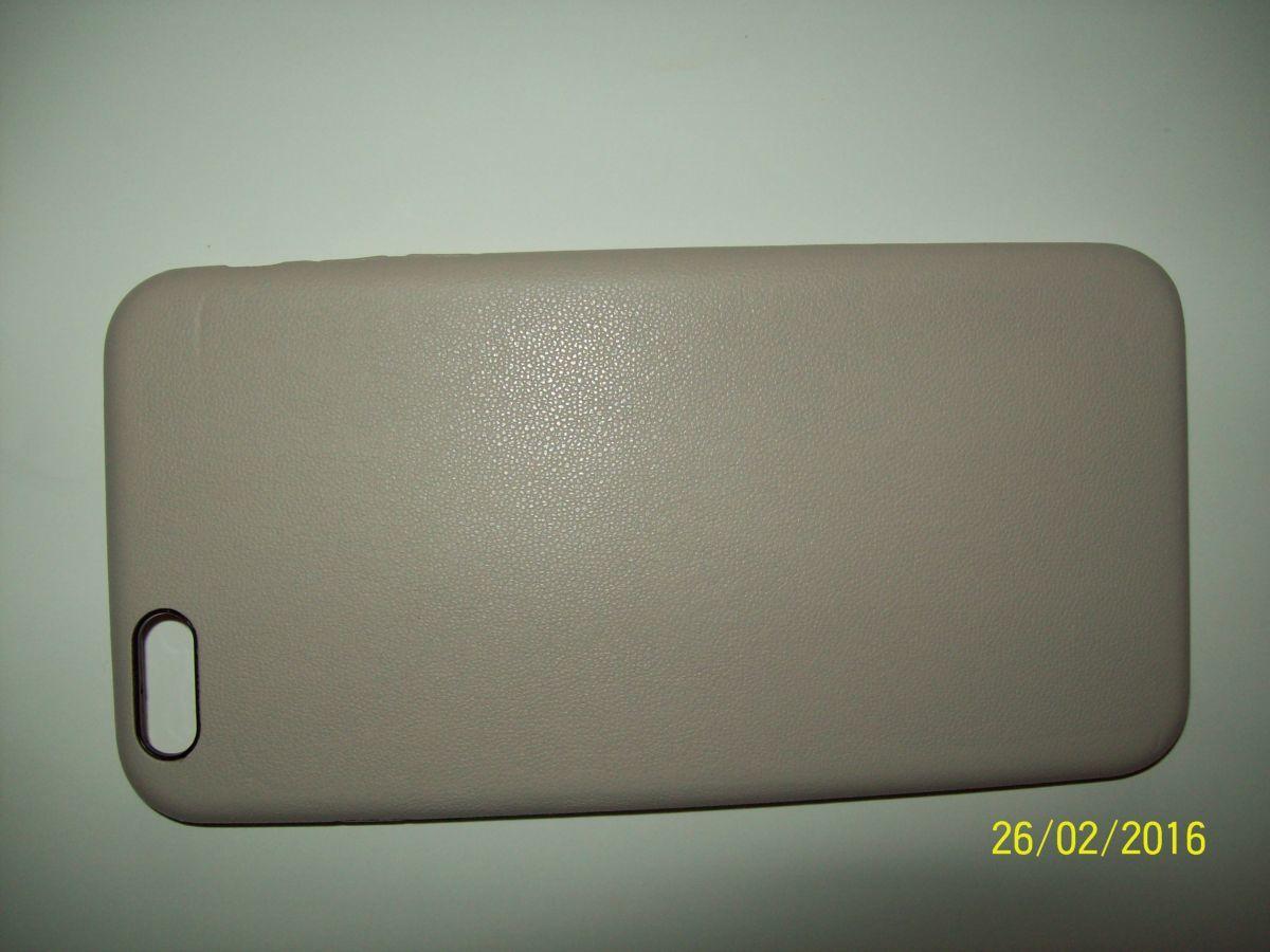 Фото 3 - Премиум чехол бампер нат.кожа IPhone 6+