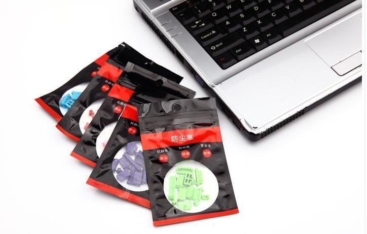 Фото - Заглушки силиконовые  для разъемов ноутбуков