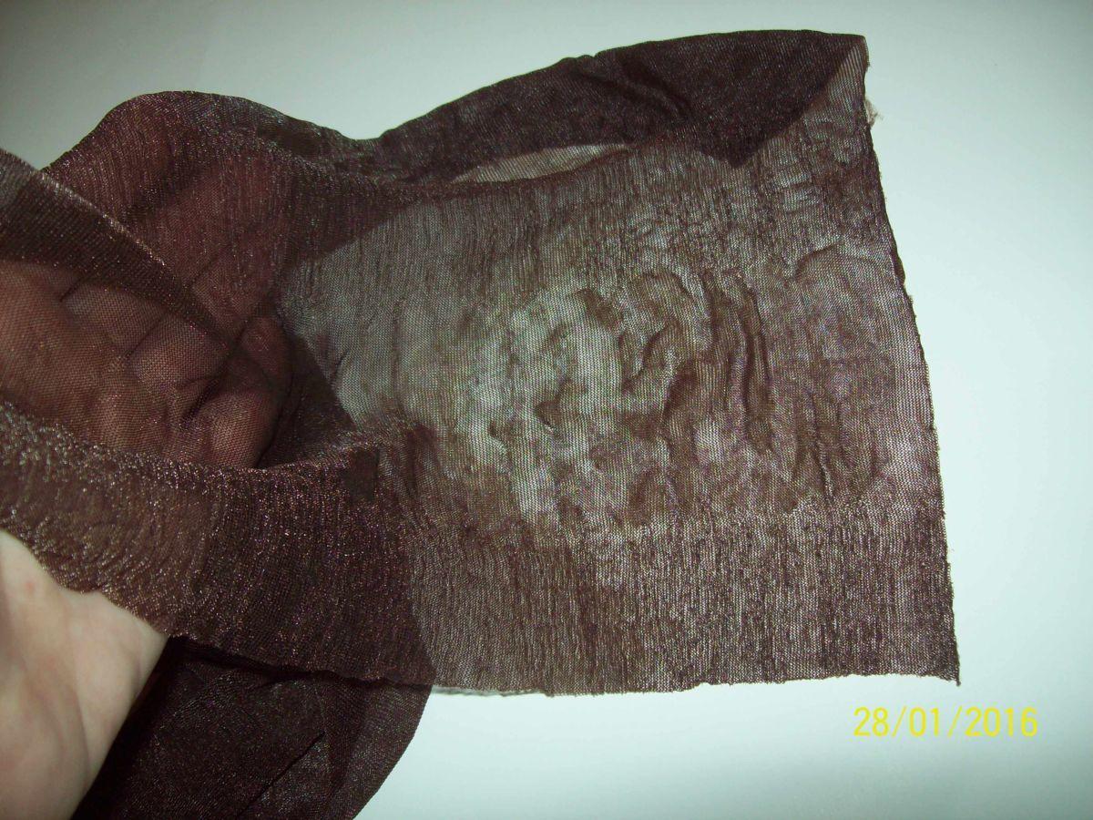 Фото 2 - Легенький весенний шарфик шоколадный
