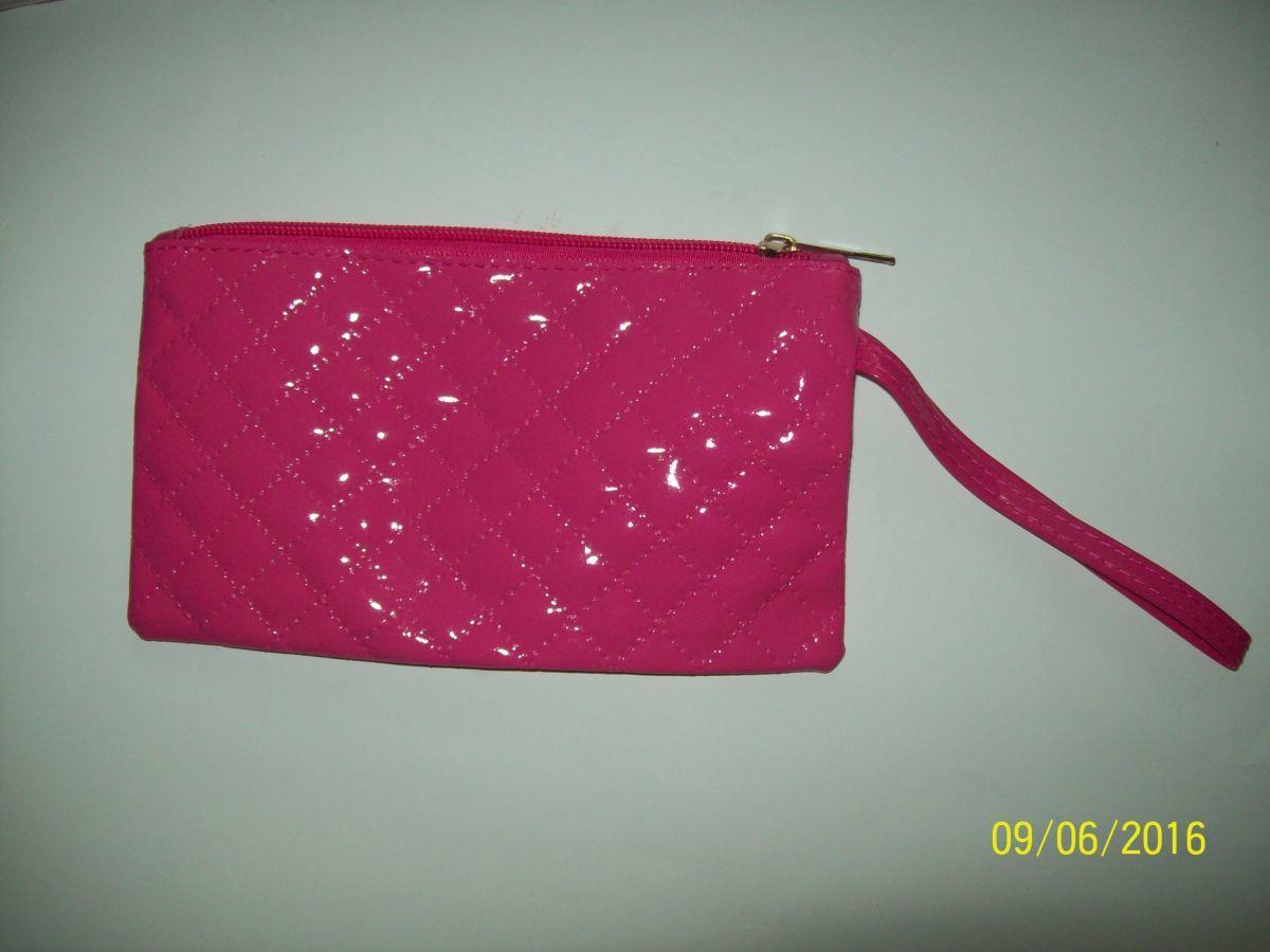 Фото 5 - Клатч розовый