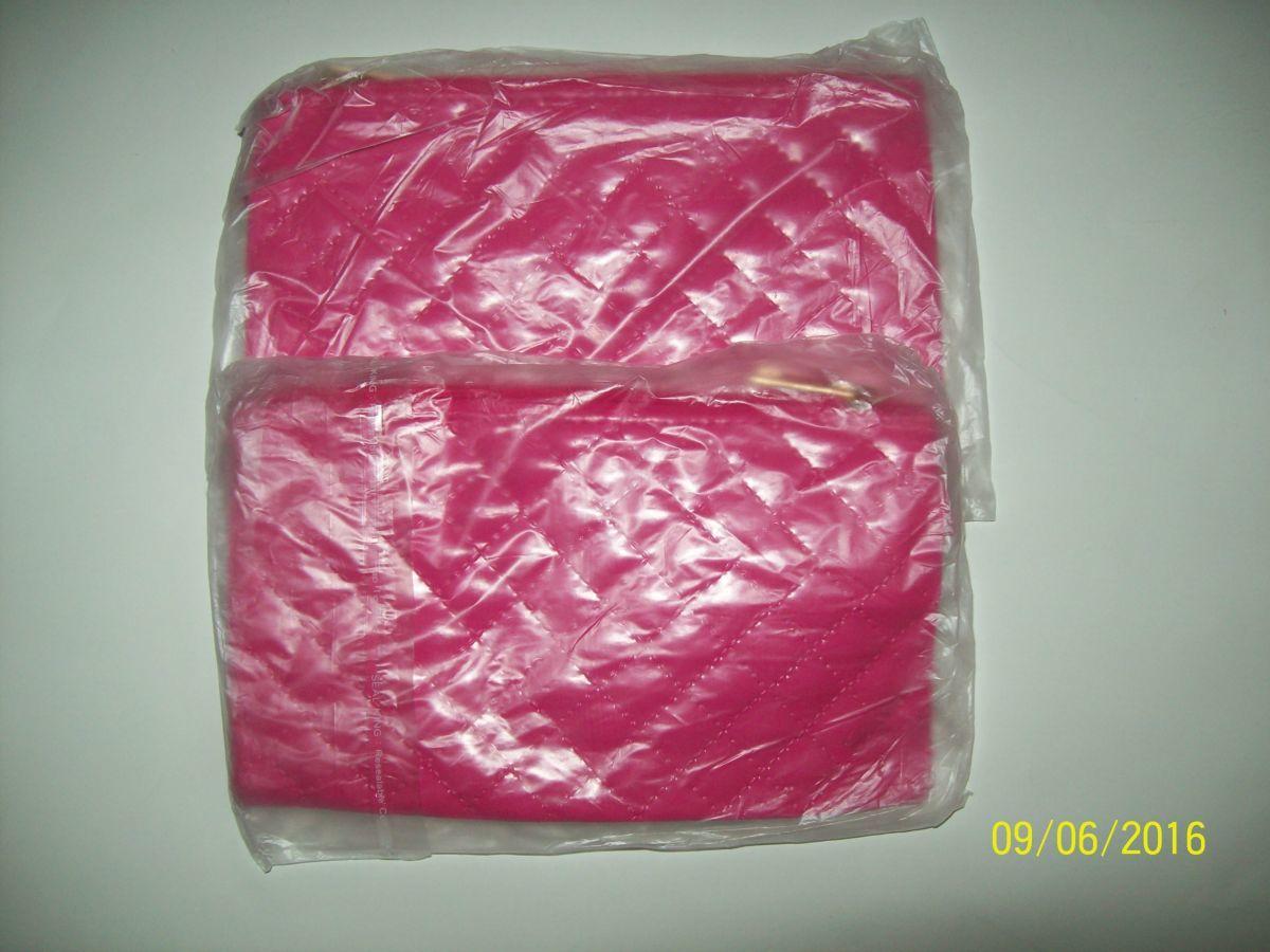 Фото 3 - Клатч розовый