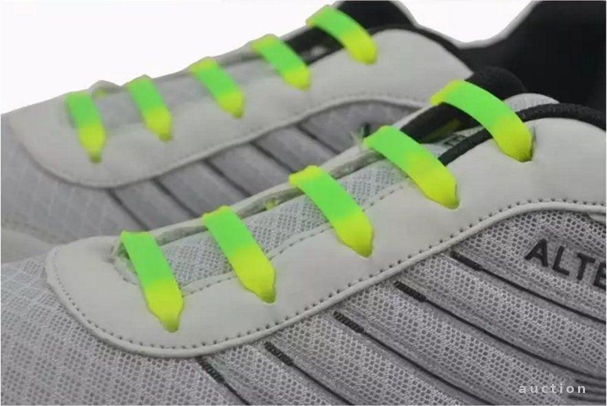 Фото - Силиконовые шнурки не нужно завязывать