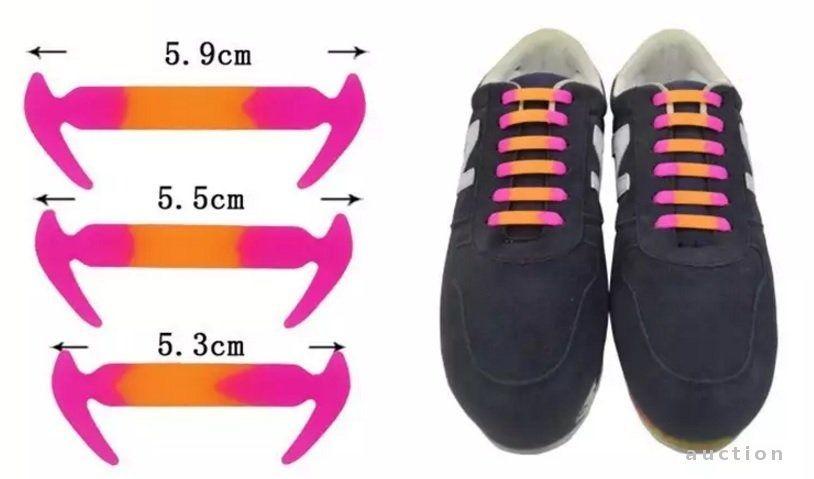 Фото 2 - Силиконовые шнурки не нужно завязывать