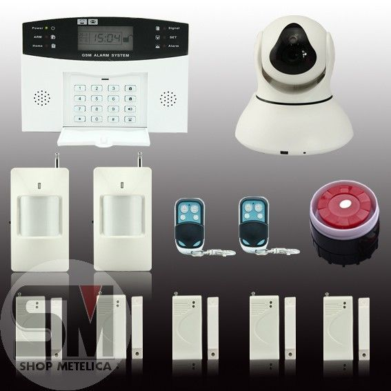 Видео сигнализация GSM Security Alarm System А67