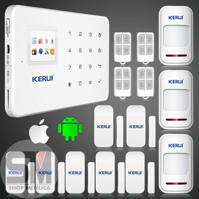 Фото - Сигнализация GSM KERUI R-12 Новинка 2016 года