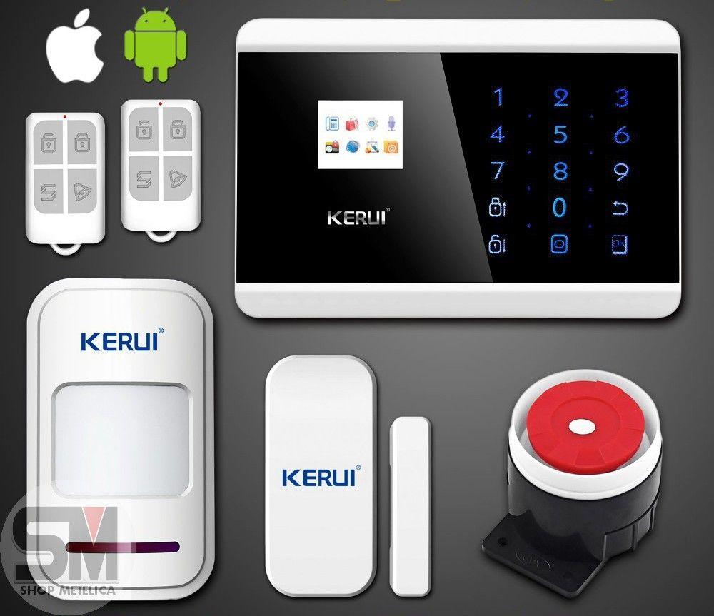 Фото - Сигнализация GSM PSTN KERUI G8218