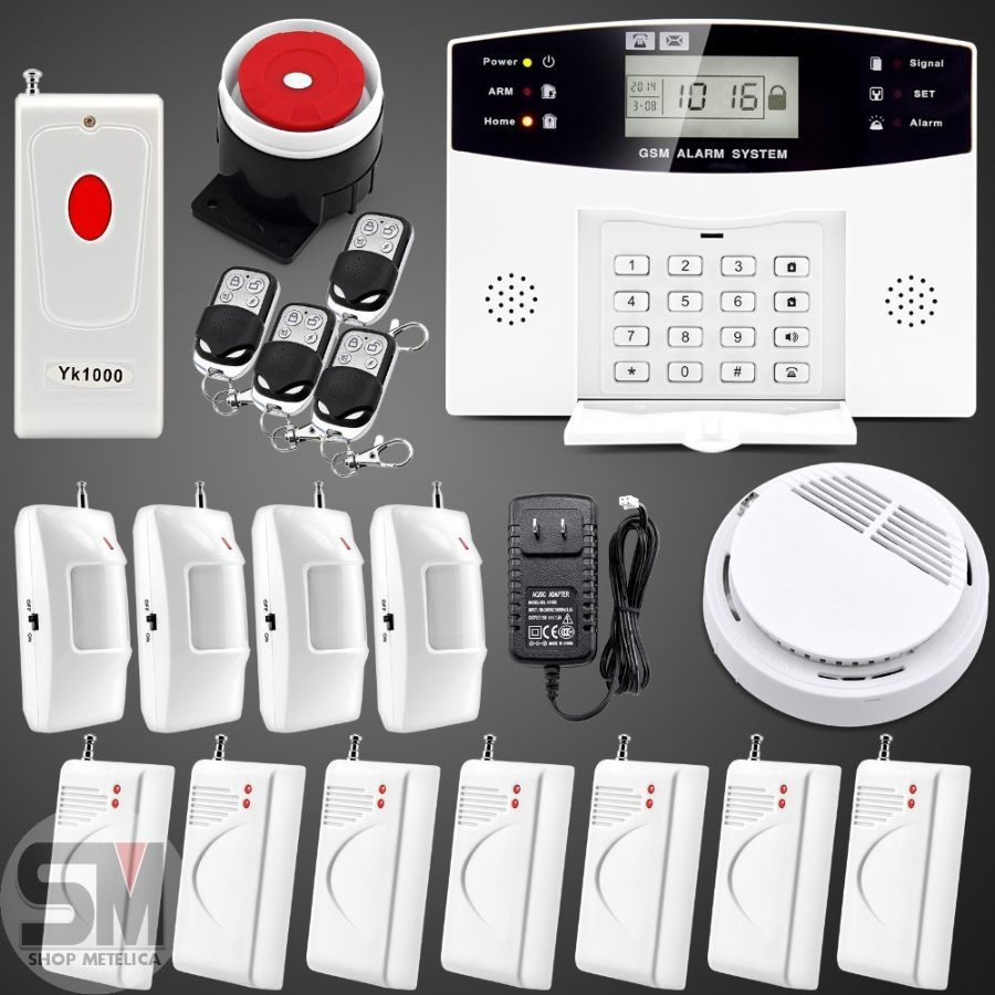 Фото - Сигнализация GSM Security Alarm System А10