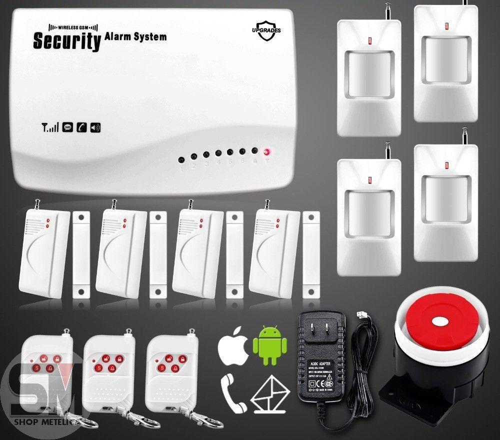 Фото - Сигнализация GSM Security Alarm System (rus) G-25