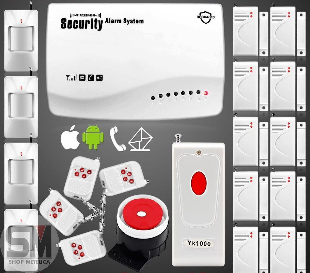 Фото - Сигнализация GSM Security Alarm System (rus) G-39