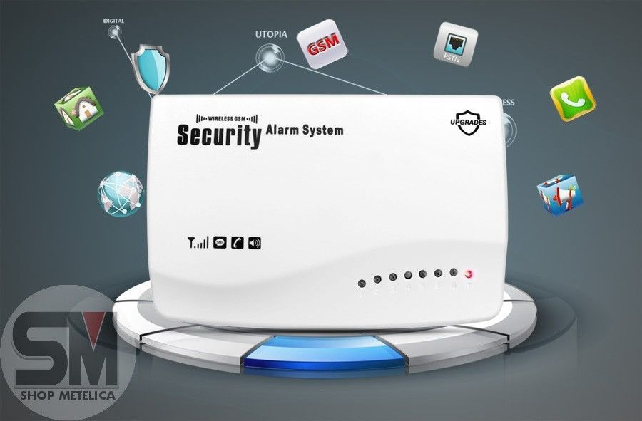 Фото 10 - Сигнализация GSM Security Alarm System (rus) G-39