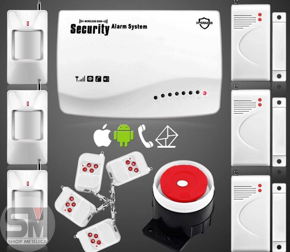 Сигнализация GSM Security Alarm System (rus) G-22