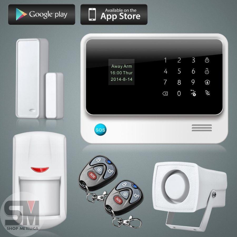 Фото - Сигнализация WI-FI GSM G90B