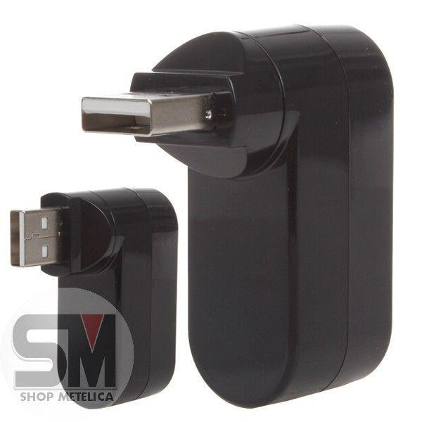 Фото 5 - USB HUB 2.0 Поворотный Высокоскоростной 3 порта
