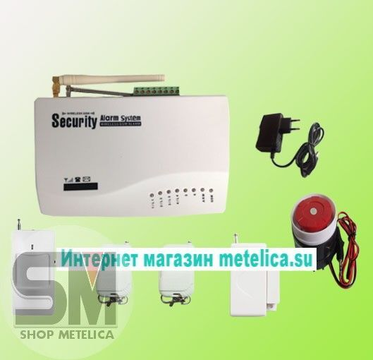 Сигнализация GSM Security Alarm System (RU)
