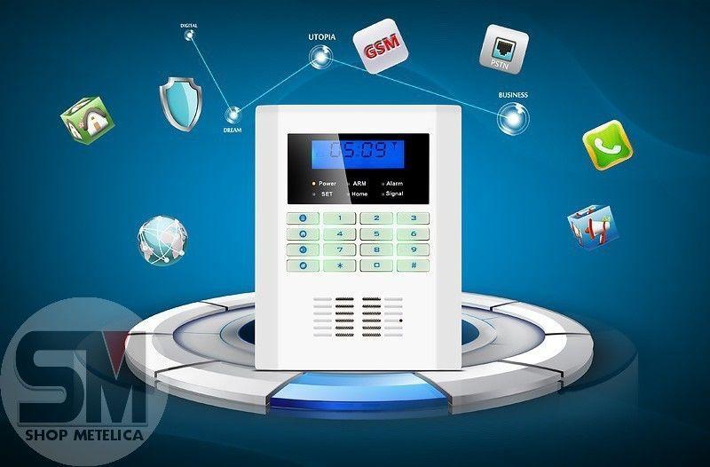 Фото 5 - Сигнализация GSM PSTN Security Alarm System (rus)