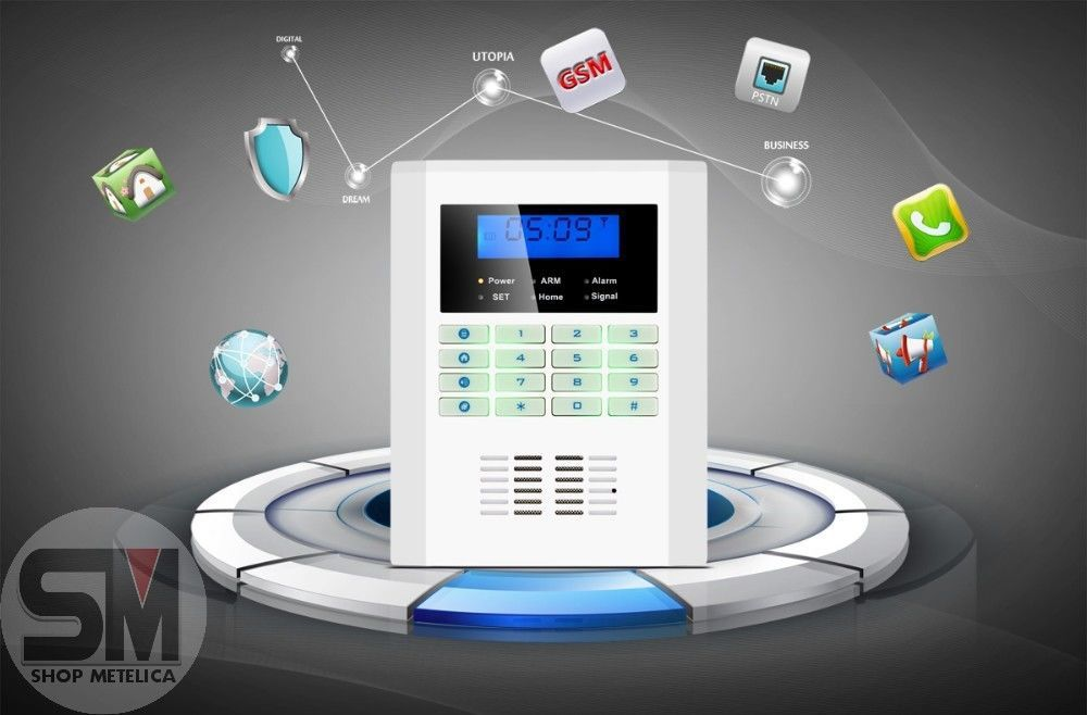 Фото 9 - Сигнализация GSM PSTN Security Alarm System B-37