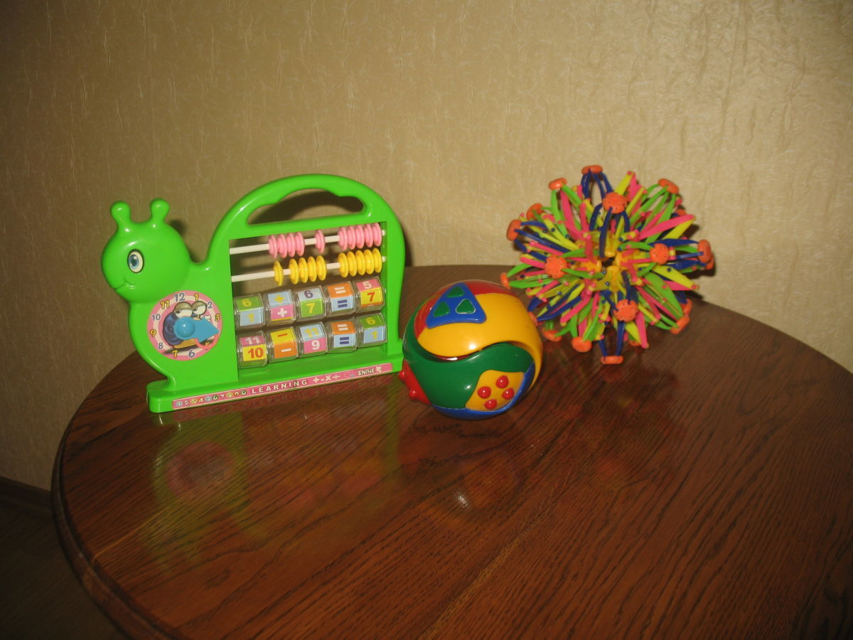 игрушки для развития интеллекта