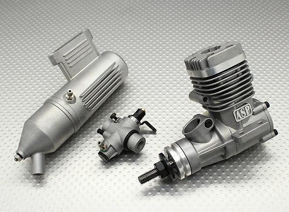 Фото - Двухтактный двигатель ASP 12A