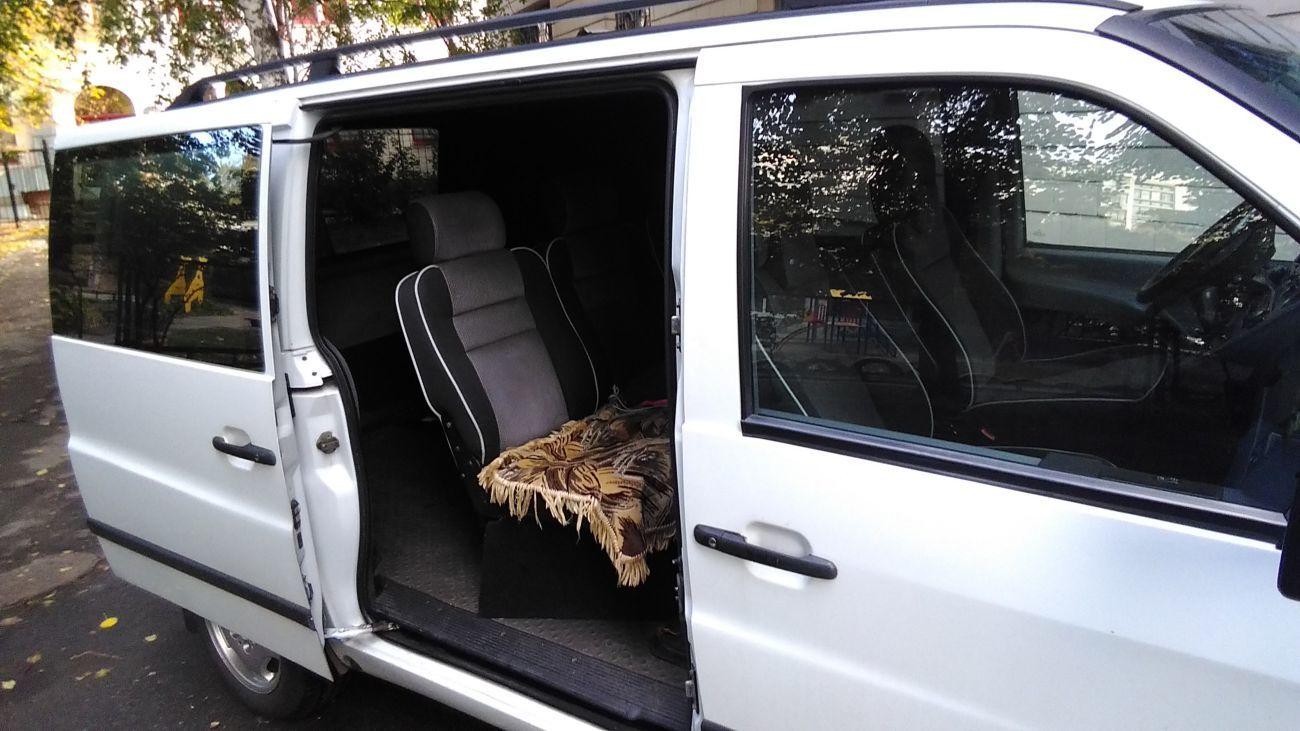 Фото 5 - перевозка пассажиров и малогабаритных грузов MB VITO