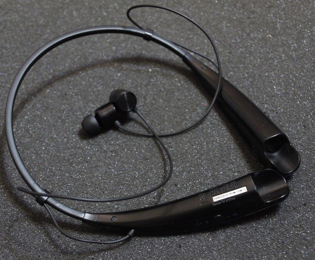 Фото 2 - Bluetooth стереогарнитура LG Tone HBS-760