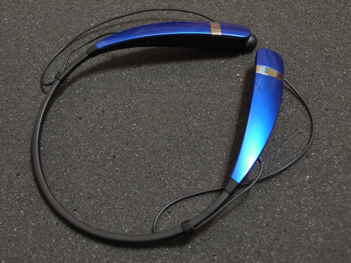 Фото 5 - Bluetooth стереогарнитура LG Tone HBS-760